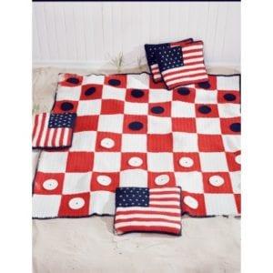 Crochet Picnic Blanket