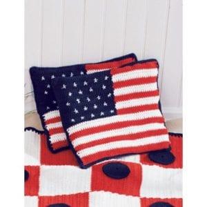 Crochet American Cushions