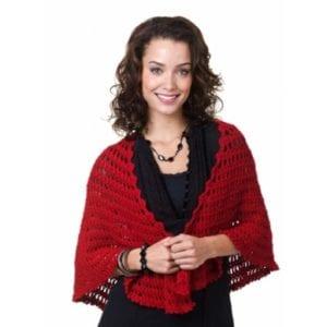 Crochet Nadia Shawl