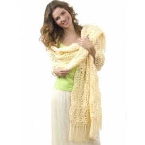 Crochet One Skein Wrap