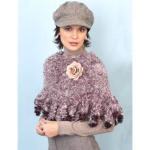Crochet Foxtail Poncho