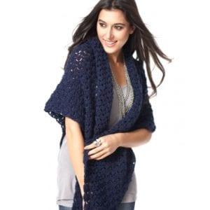Crochet Starlette Shawl