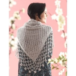 Crochet Lace Edge Shawl