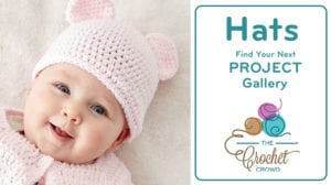 Crochet Baby Hats Gallery