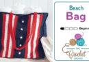Crochet American Beach Bag