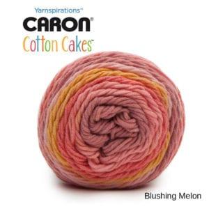 Caron Cotton Cakes: Blushing Melon