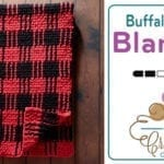 Crochet Buffalo Plaid Blanket + Tutorial