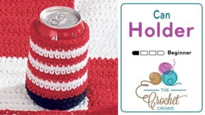 Crochet Can Holder Cozy