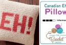 Crochet EH Canadian Pillow + Tutorial