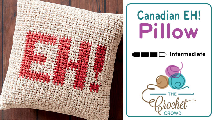 Crochet Canadian EH Pillow