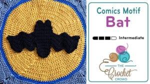 Comics Bat Motif