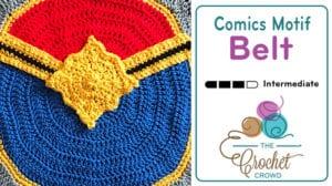 Comics Belt Motif