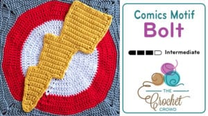 Comics Lightening Bolt Motif