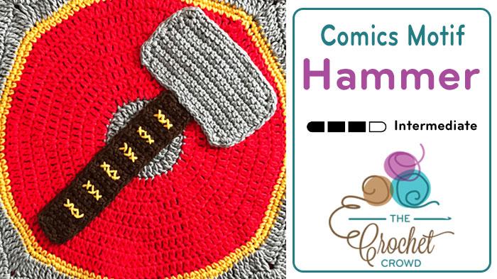 Comics Hammer Motif