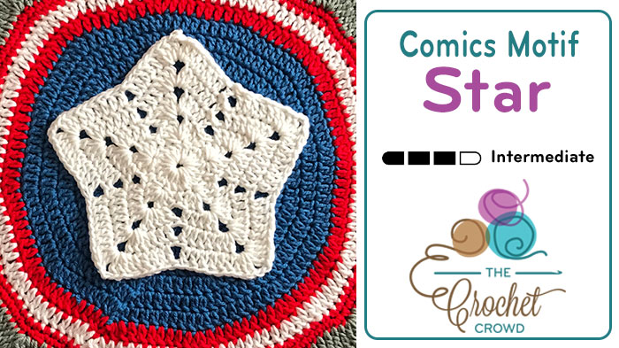 Comics Large Star Motif