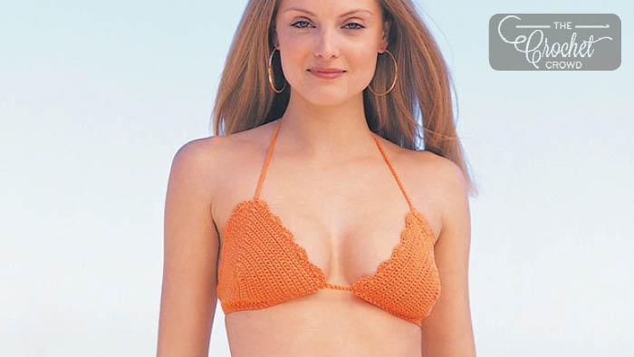 Crochet Sizzlin' Hot Bikini