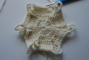 Hexagon Baby Blanket by Jeanne Steinhilber