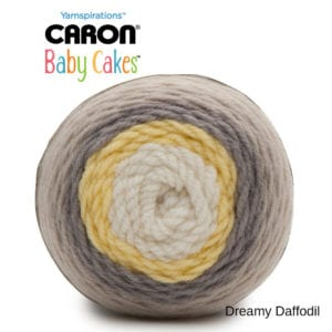 Caron Baby Cakes: Daffodil