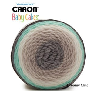 Caron Baby Cakes: Dreamy Mint