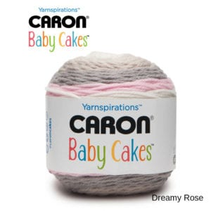 Caron Baby Cakes: Dreamy Rose