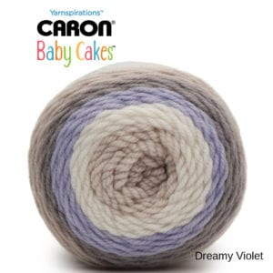 Caron Baby Cakes: Dreamy Violet