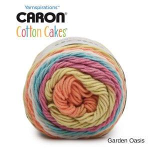 Caron Cotton Cakes: Garden Oasis