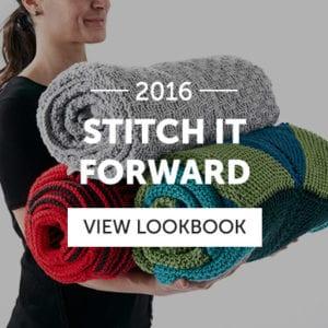 Stitch it Forward Lookbook by Yarnspirations