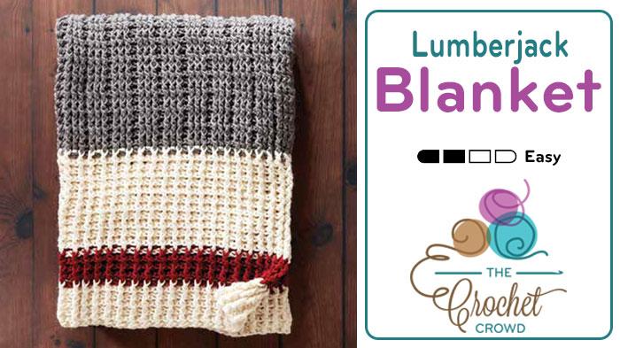 Crochet Lumberjack Blanket