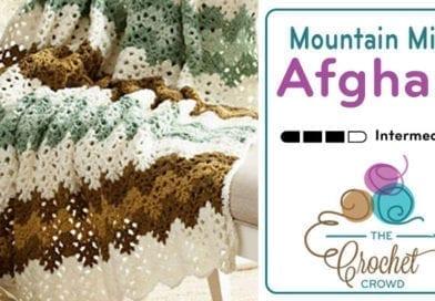 Crochet Mountain Mist Afghan