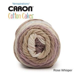 Caron Cotton Cakes: Rose Whisper