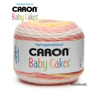 Caron Baby Cakes: Rosebuds