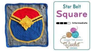 Crochet Belt Action Square