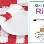 Crochet Star Napkin Ring