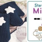Crochet American Oven Mitts