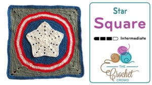 Crochet Action Packed Star Square
