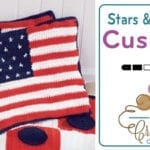 Crochet American Cushion