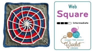 Crochet Web Square