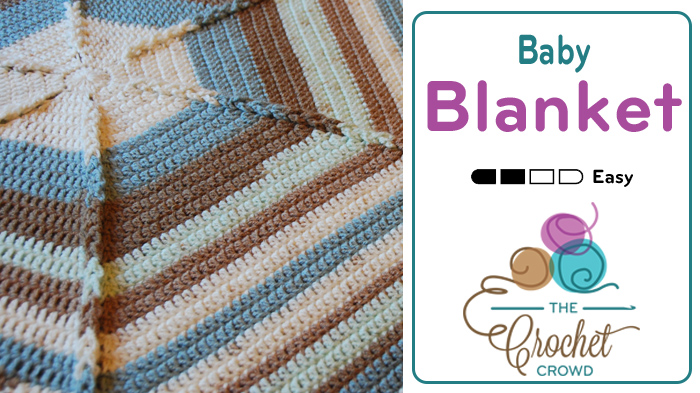 Hexagon Baby Blanket by Jeanne Steinhilber