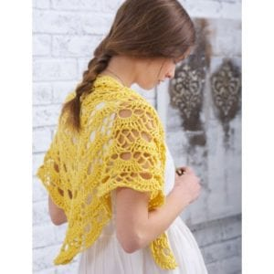 Crochet Yes, Yes Shawl