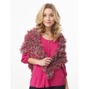 Crochet Fluerettes Shawl