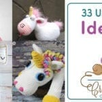 33 Crochet Unicorn Patterns