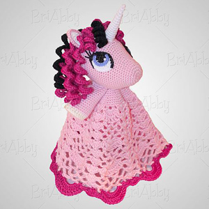 5 Unicorn Lovey Security Blanket