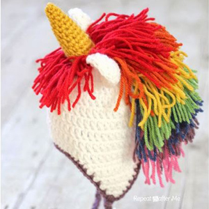6 Unicorn Hat