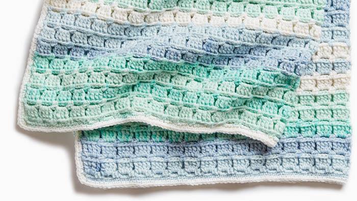 Crochet Baby Tiles for Miles Blanket Pattern