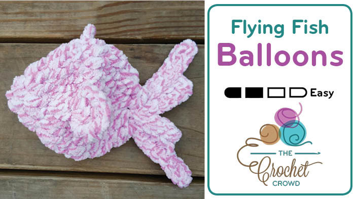 Crochet Flying Fish Water Balloons