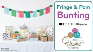 Fringe and Pom Pom Bunting