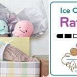 Crochet Ice Cream Rattle Pattern + Tutorial