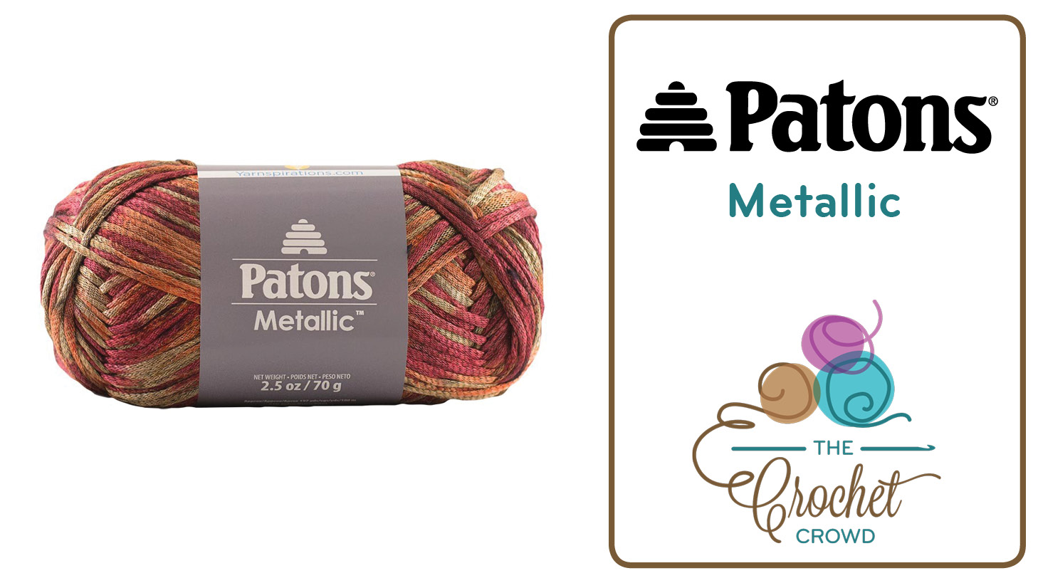 What To Do With Patons Metallic Yarn - The Crochet Crowd®