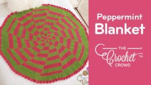Crochet Peppermint Blanket