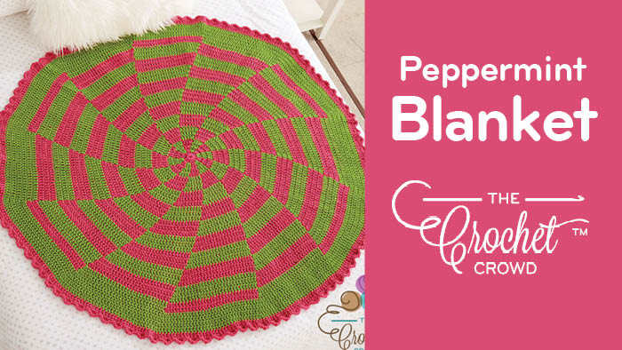 Crochet Peppermint Blanket